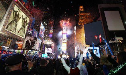 Новый год – как это было в Нью-Йорке