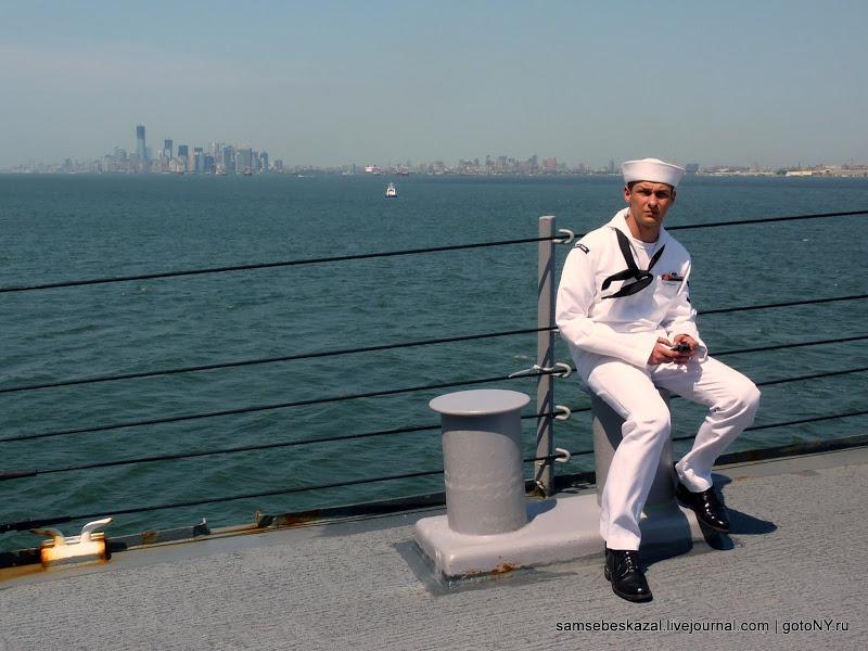 Неделя военно-морского флота в Нью-Йорке. Боевые корабли. Часть 1