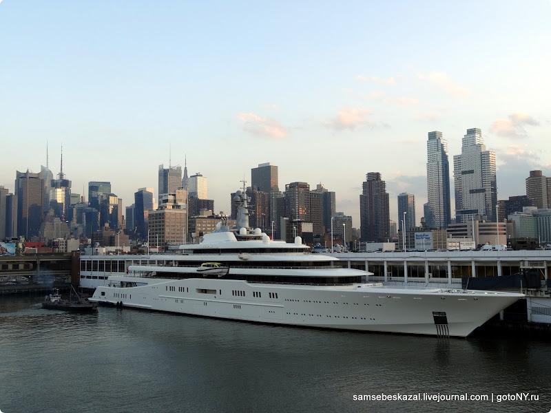 Как я фотографировал яхту Абрамовича