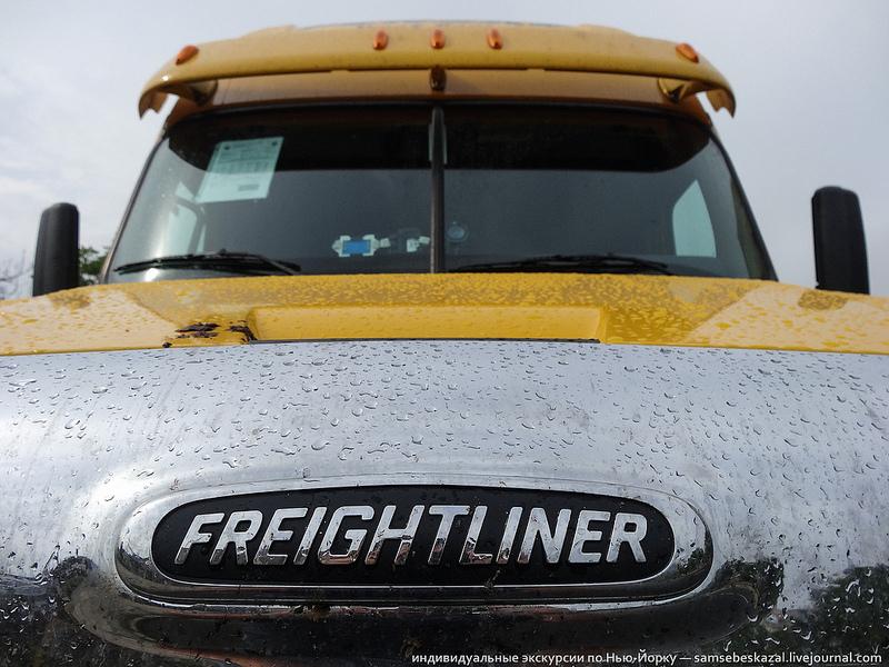 Пост про большой американский грузовик