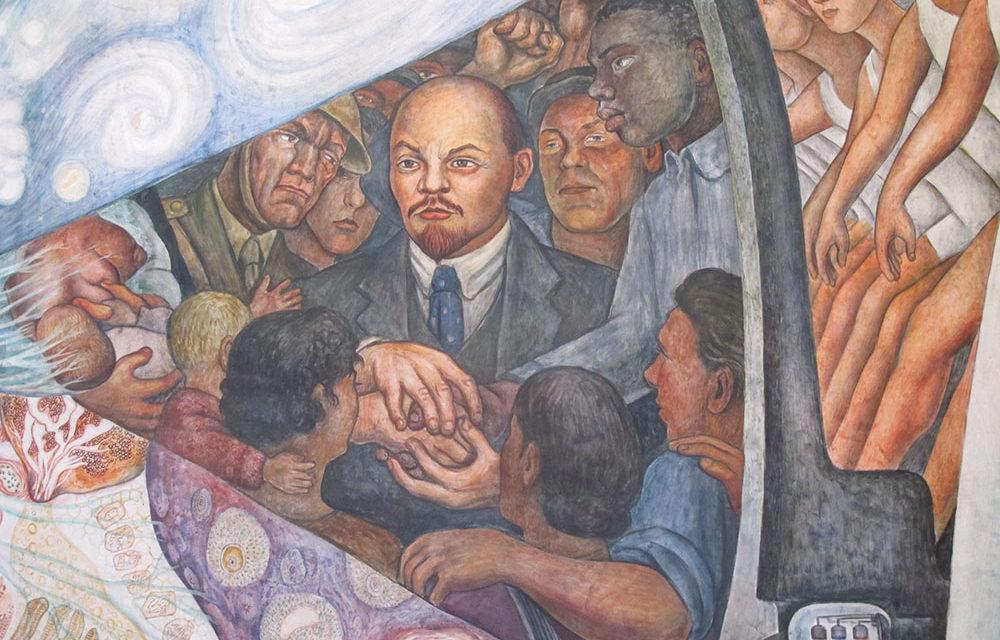 Ленин и Рокфеллер-центр