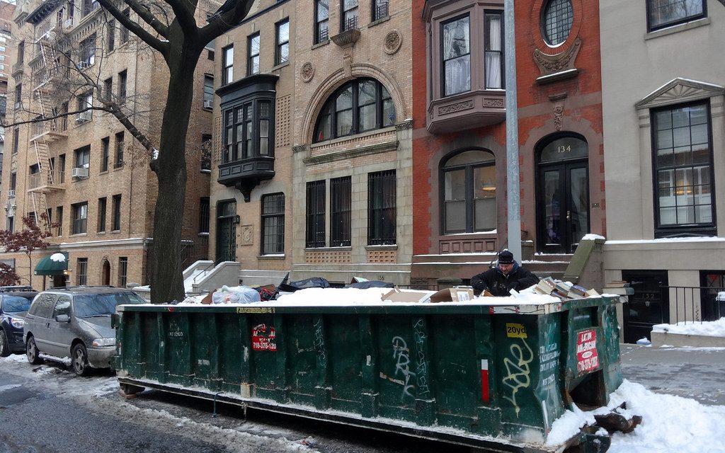 Что можно найти в нью-йоркской мусорке