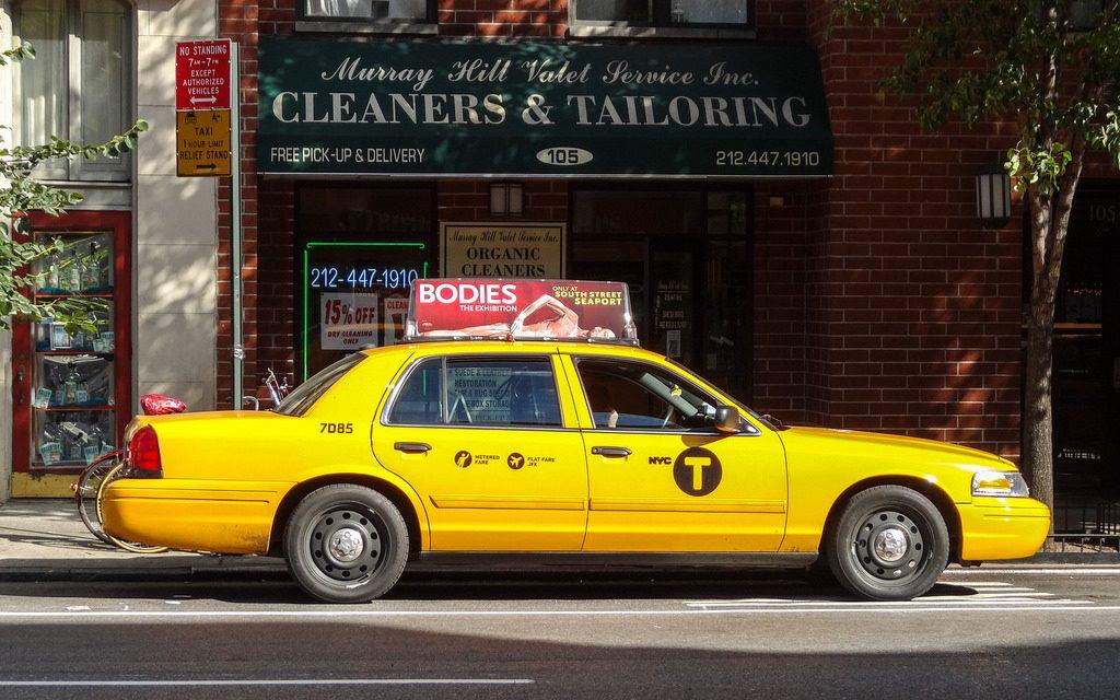 Машины нью-йоркского такси