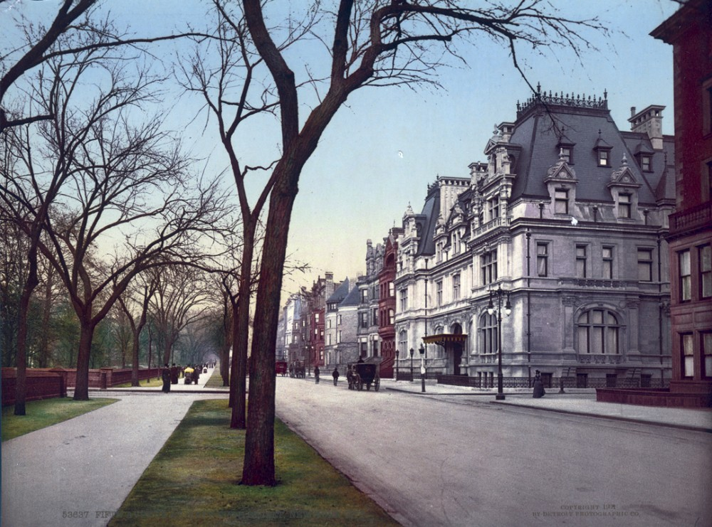 Fifth Ave at Sixty-Fifth Street New York, New York - Year 1901