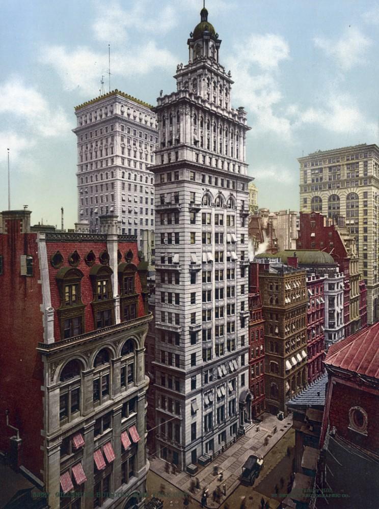 Gillender Building, New York, New York - Year 1900