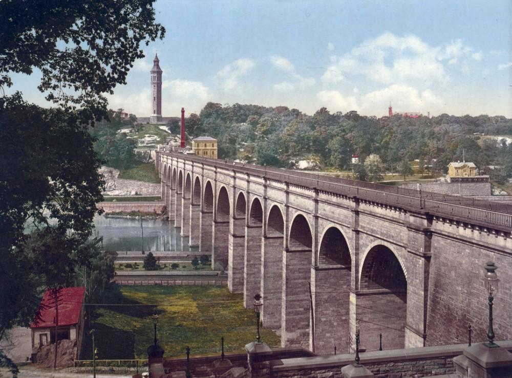 High Bridge, New York, New York - Year 1900