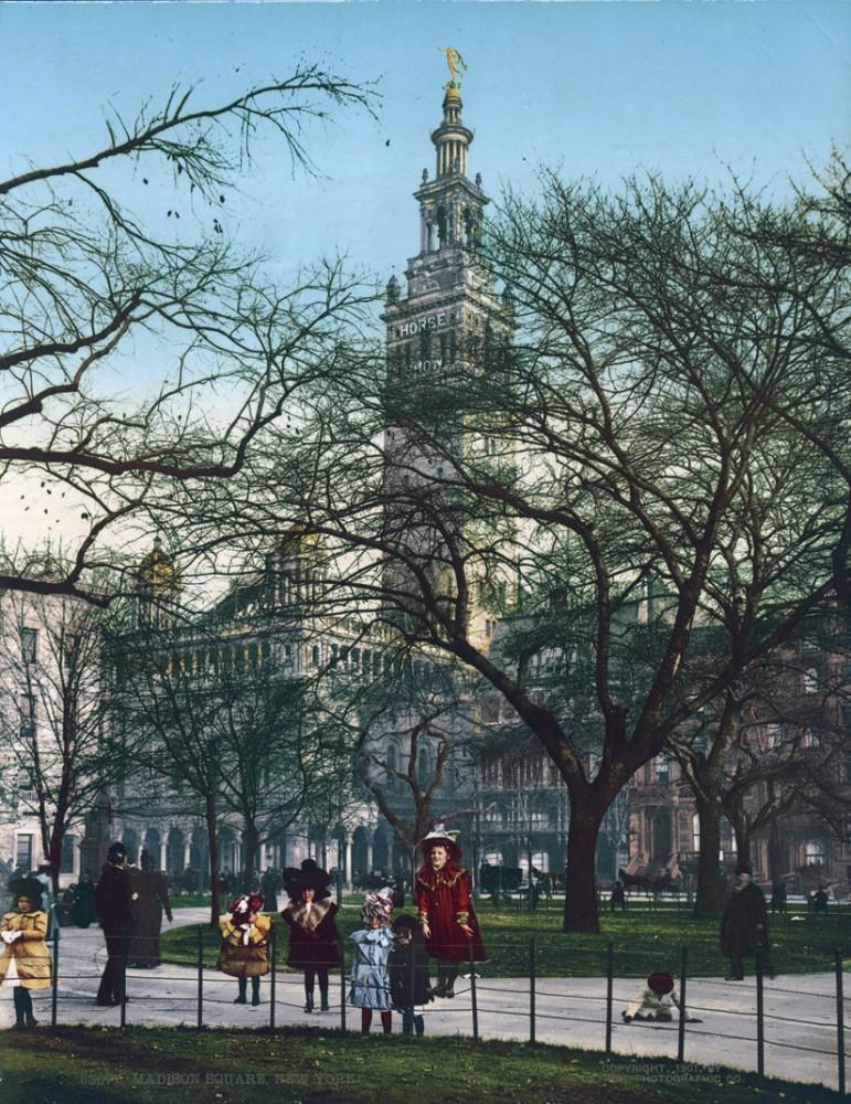 Madison Square, New York, New York - Year 1901