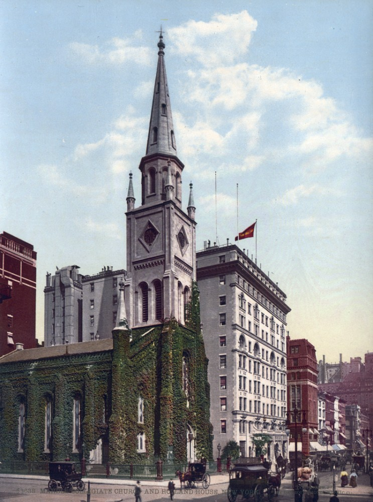 Marble Collegiate Church and Holland House, New York, New York - Year