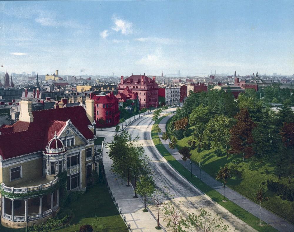 The Circle, Brooklyn, New York - Year 1904
