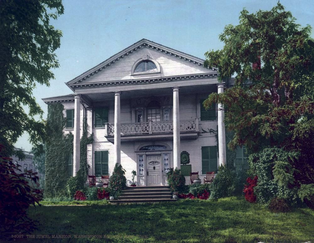 The Jumel Mansion, Washington Heights, New York, New York - Year 1903