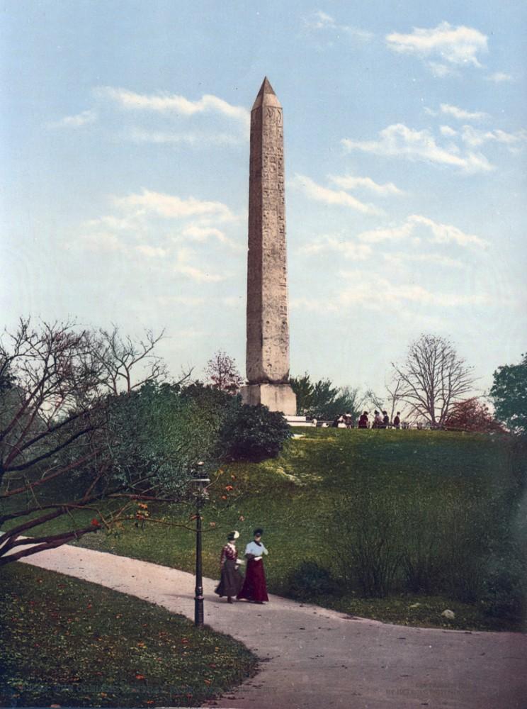 The Obelisk, Central Park, New York, New York - Year 1901