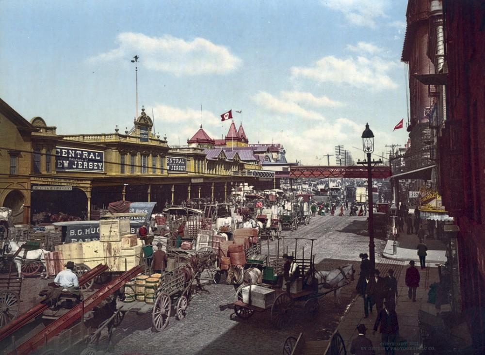 West Street, New York, New York - Year 1901