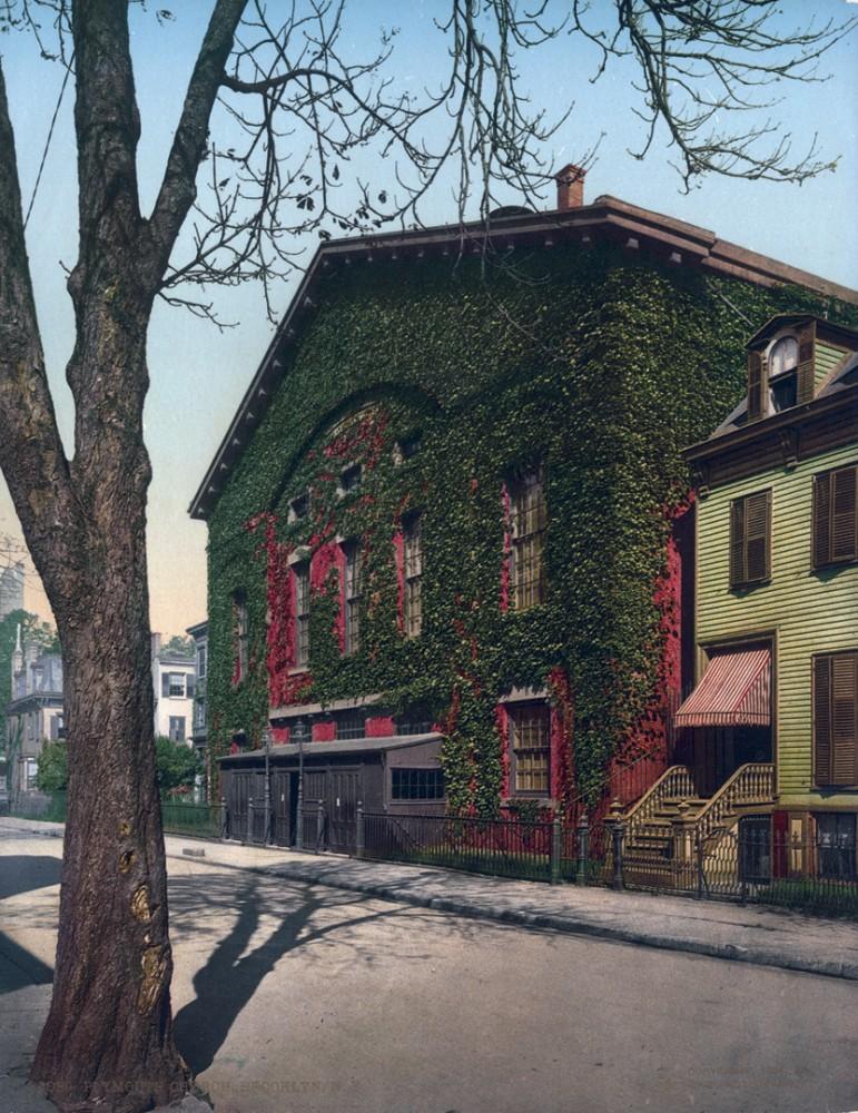 Plymouth Church, Brooklyn, New York, New York - Year 1902