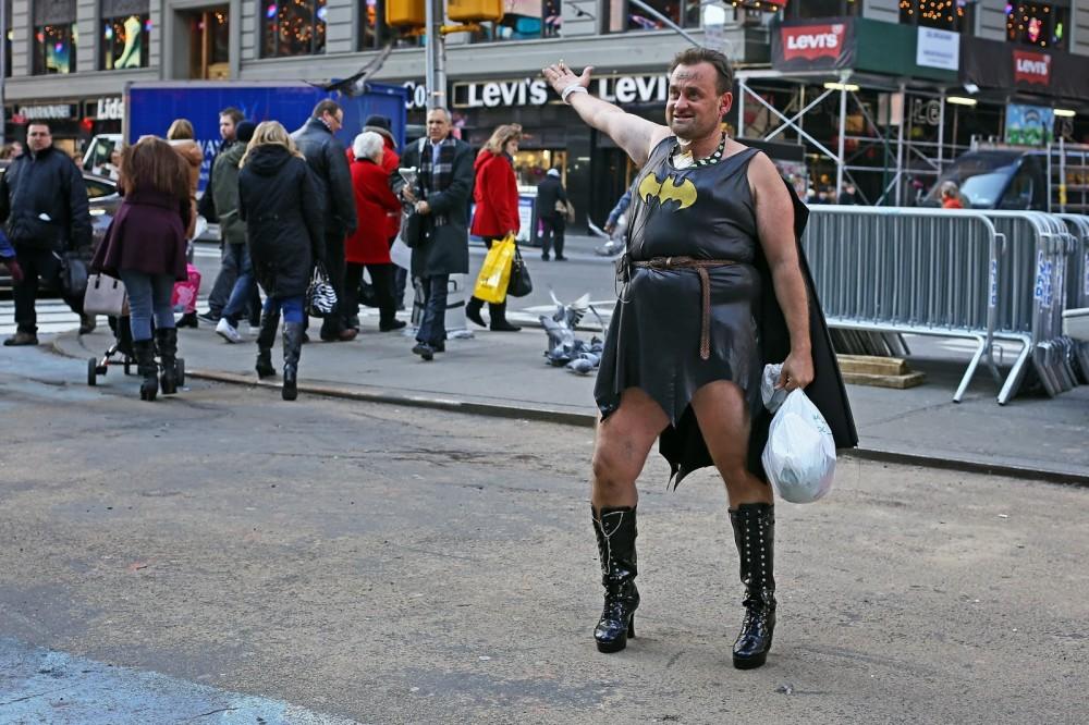 Meet Charles Holla, aka Batgirl