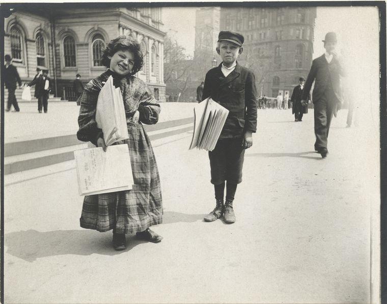 Newsboys. (1896)