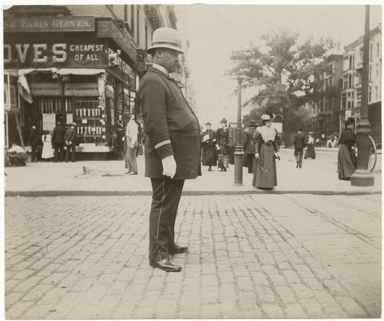 Нью-Йоркцы в 1896 году