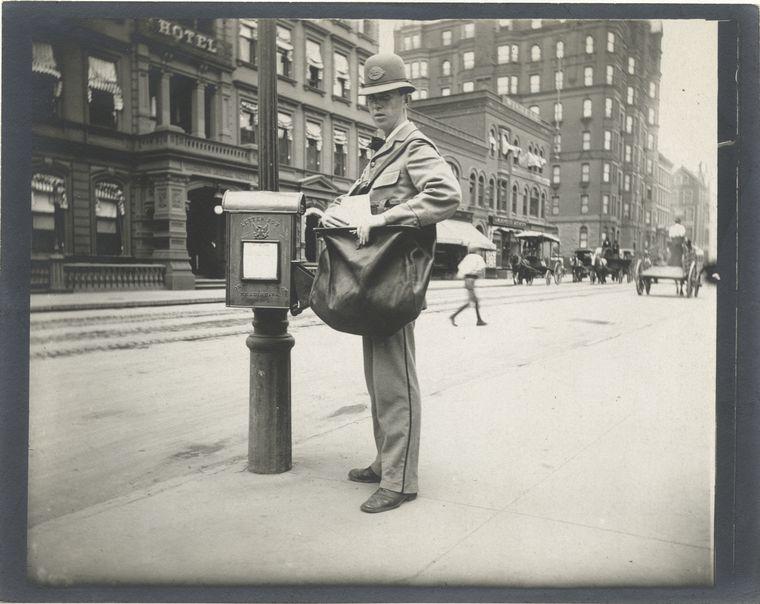 Postman. (1896)