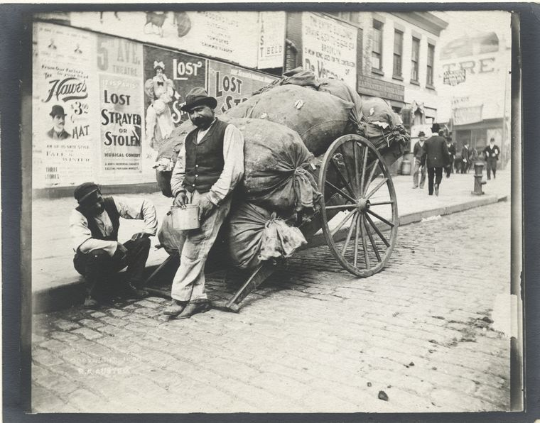 Rag cart. (1896) 3