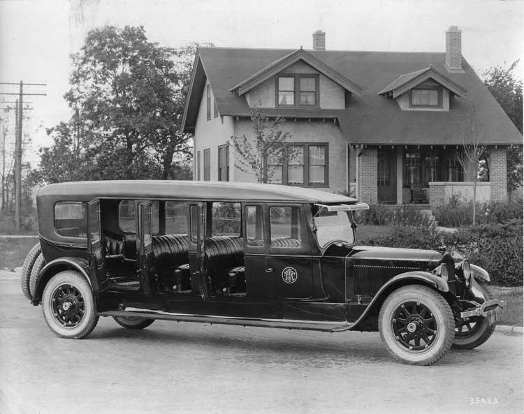 1920-1923 Packard special 5-door commuter