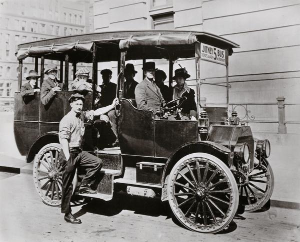 International Jitney Bus 1914