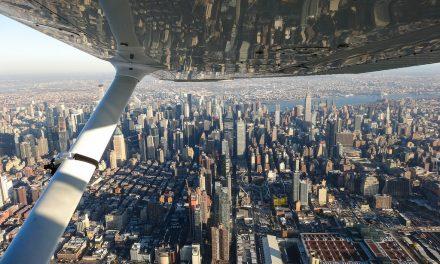 Полет над Нью-Йорком. Часть первая.