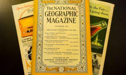 """Журналы """"Нэшнл Джеографик"""" 30-х годов"""