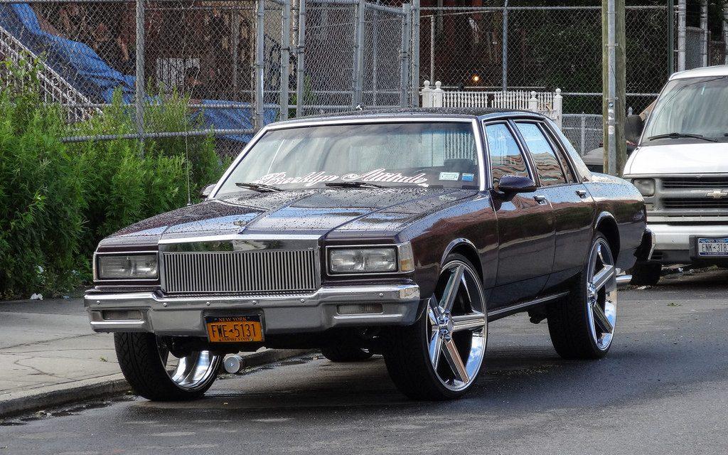 Старые автомобили на улицах Нью-Йорка – 20