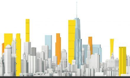 Новые небоскребы Нью-Йорка. Нижний Манхэттен.