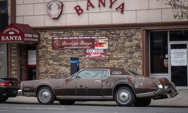Старые автомобили на улицах Нью-Йорка – 24
