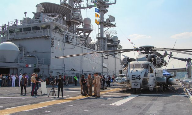Неделя флота в Нью-Йорке и поход на универсальный десантный корабль USS Bataan