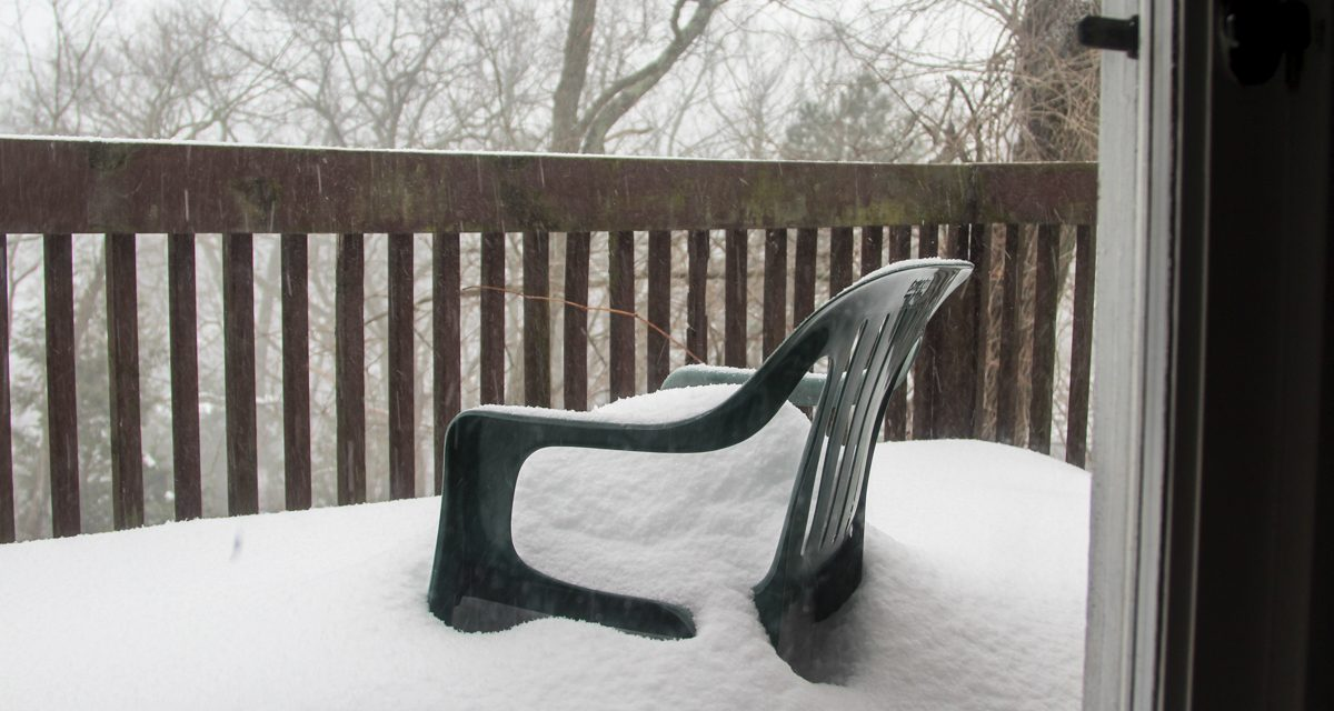 Снежный шторм Стелла