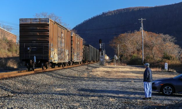 136 вагонов и два локомотива