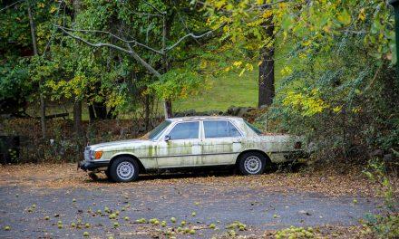 Старые автомобили на улицах Нью-Йорка – 30. Брошенные машины.