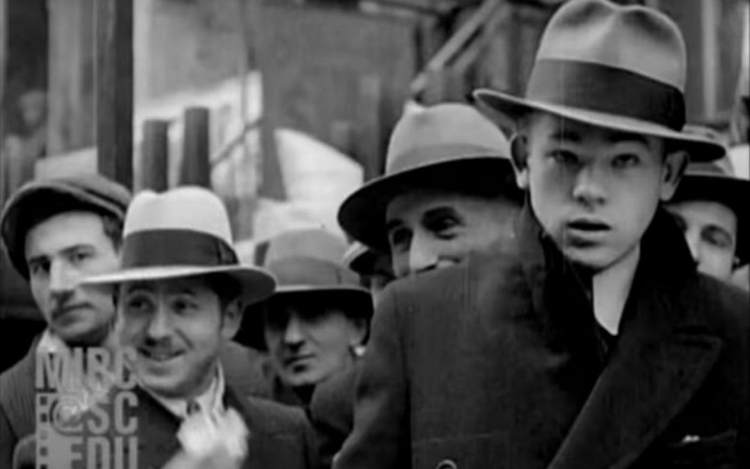Нью-Йорк 1929 года со звуком