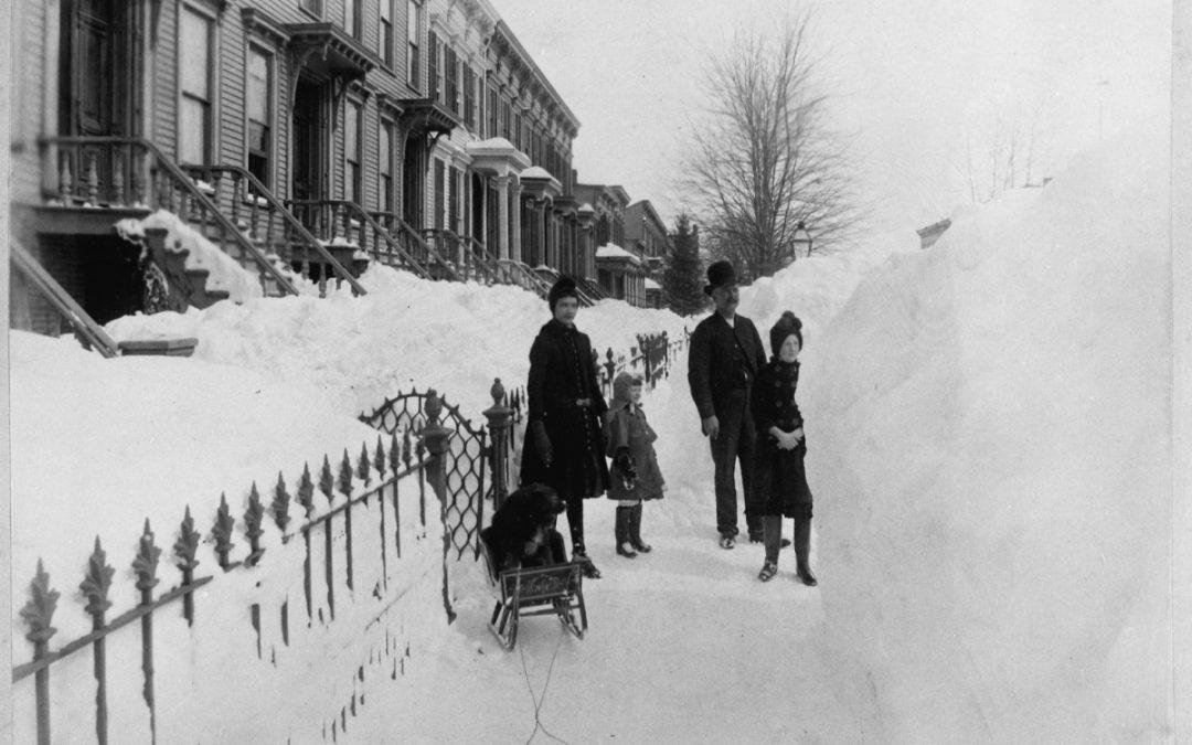 Великая снежная буря 1888 года