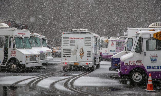 Последний снегопад марта