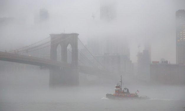 Немного нью-йоркского тумана.