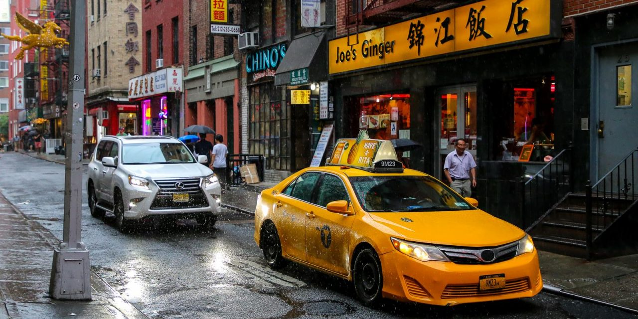 Одним дождливым июльским днем прогулялся после работы по чайнатауну Манхэттена (и немного по …