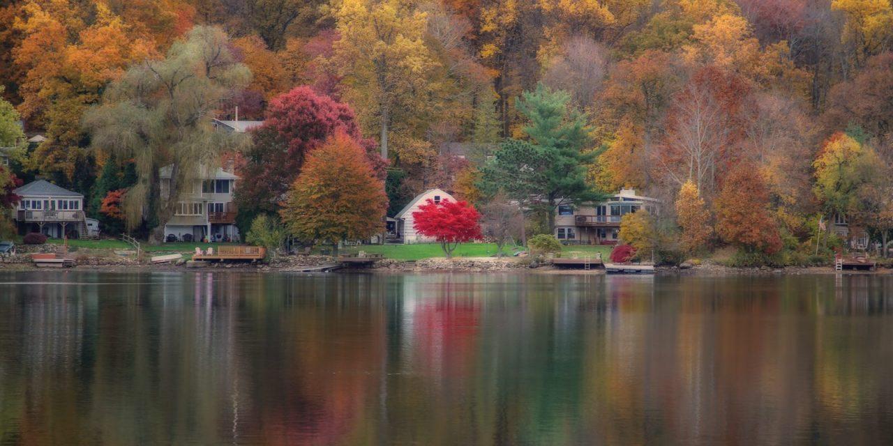 Осень в нашей деревне.