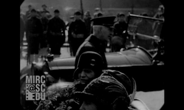 Интересная документальная съемка Нью-Йорка 1929 года со звуком