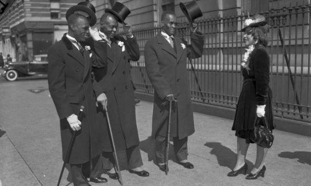Пасха в Гарлеме, 1947 год