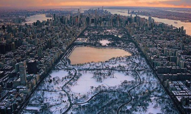 Зимний Центральный парк