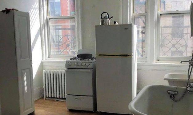 Как же я люблю нью-йоркские квартиры за их нестандартность и вечные компромиссы