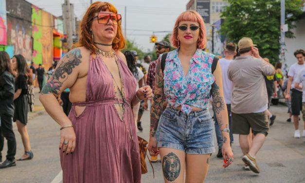 Немного фоток людей с уличной вечеринки Bushwik Collective, которая прошла в эту субботу в бруклинс