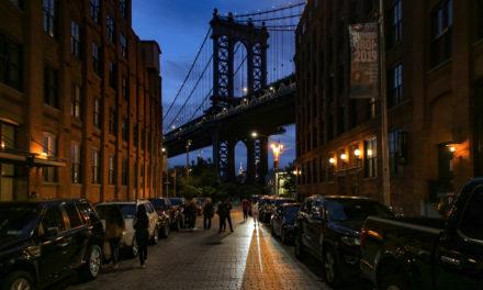 Поездка по ночному Нью-Йорку