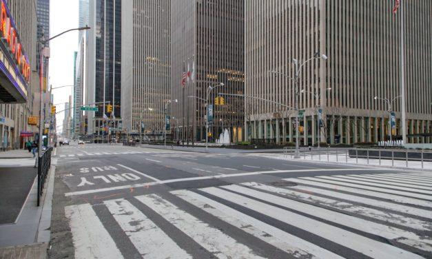 Еще одна порция фотографий опустевшего Нью-Йорка