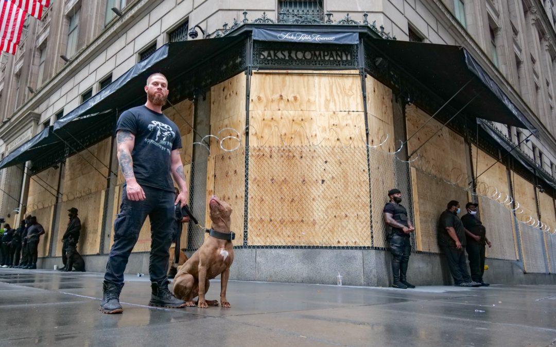 Протесты в Нью-Йорке продолжаются