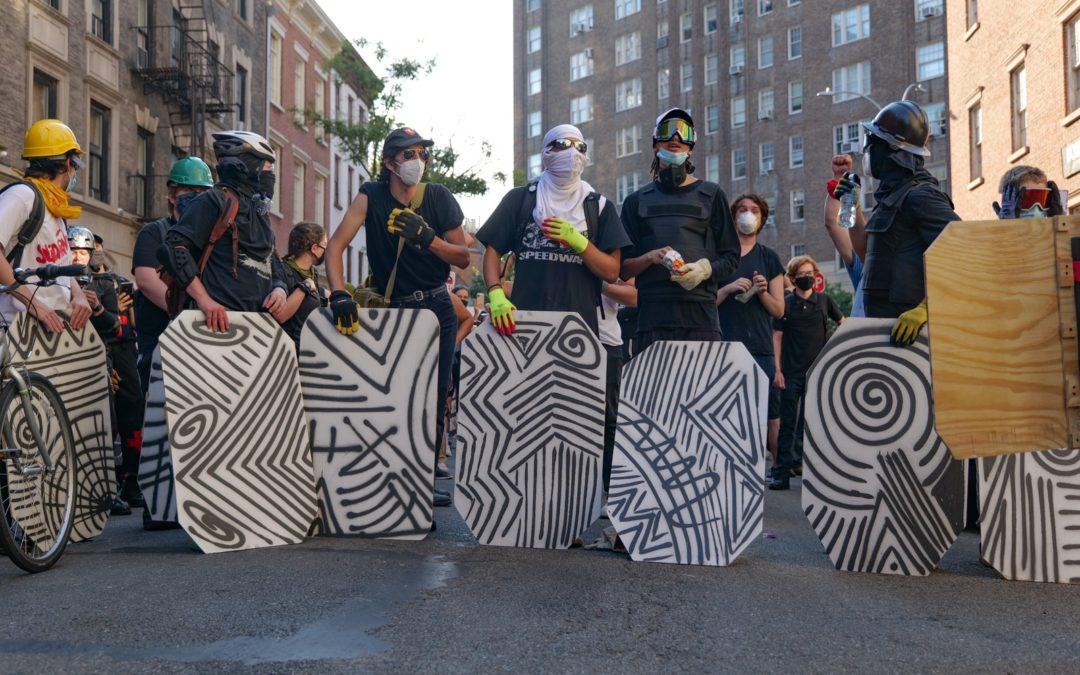 Два месяца с начала протестов в Нью-Йорке