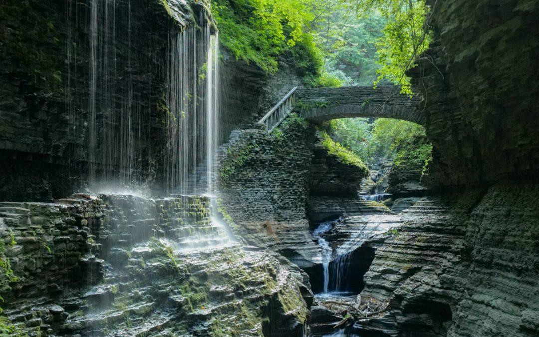 Одно из самых красивых мест штата Нью-Йорк