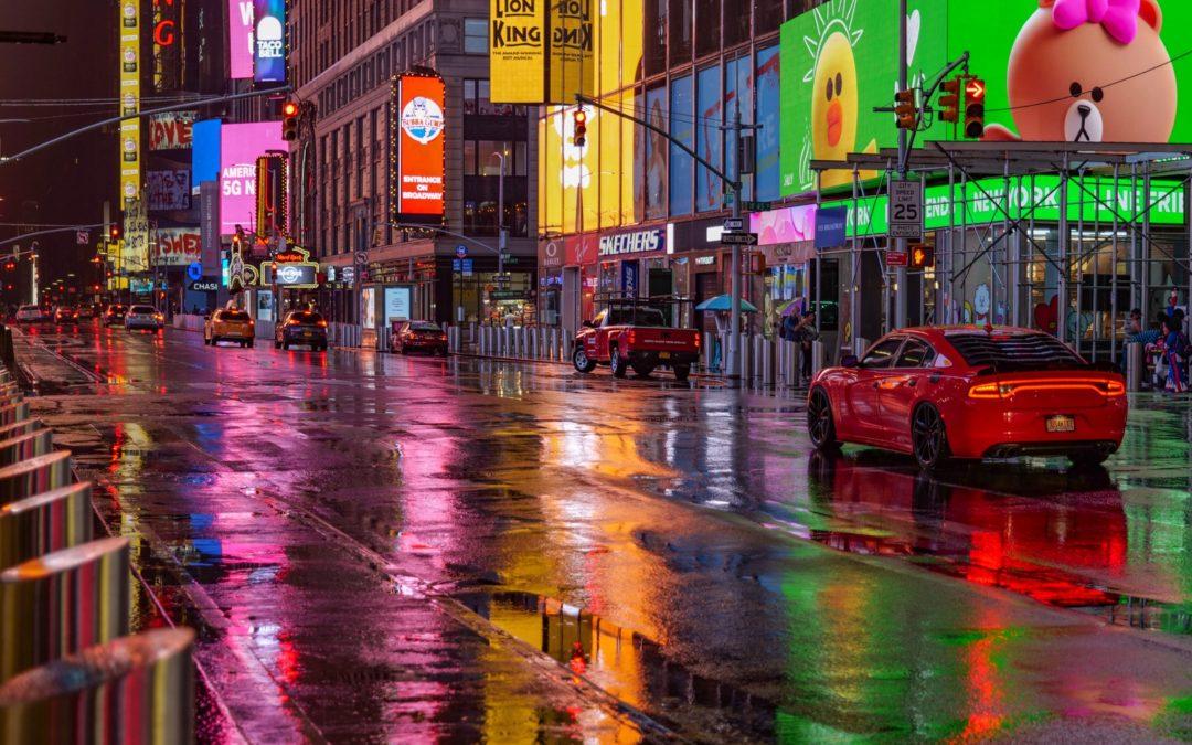 Бегущий по лезвию Таймс-сквер